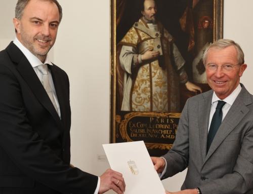 Gründungspartner Norbert Haiden wurde als Ziviltechniker vereidigt
